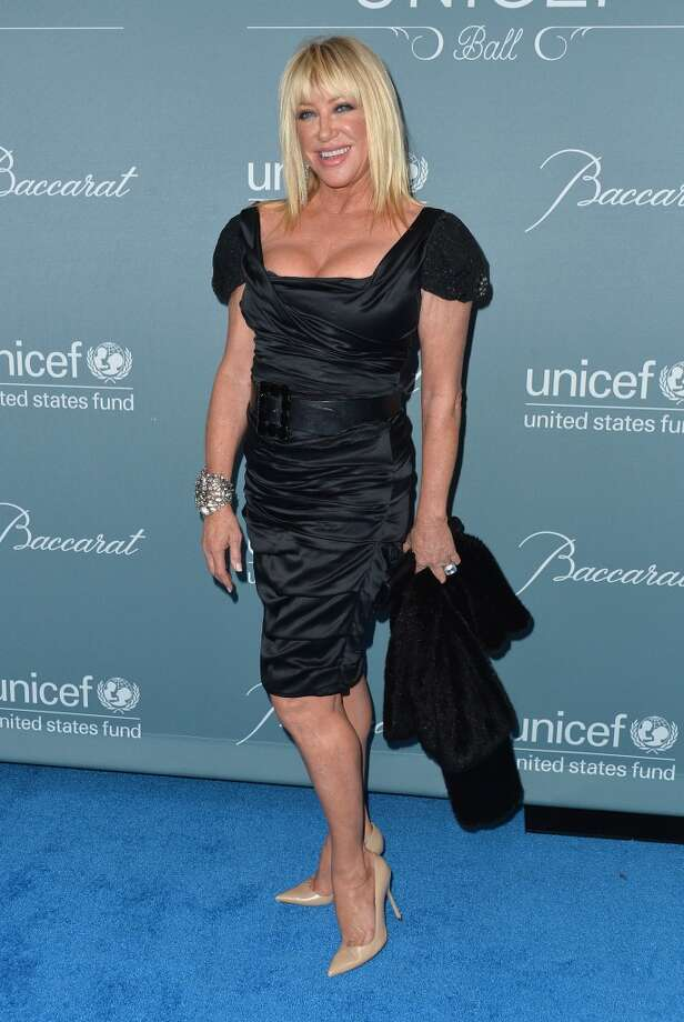 Actress Suzanne Somers arrives to the 2014 UNICEF Ball Presented by Baccarat at the Regent Beverly Wilshire Hotel on January 14, 2014 in Beverly Hills, California. Photo: Alberto E. Rodriguez, Getty Images