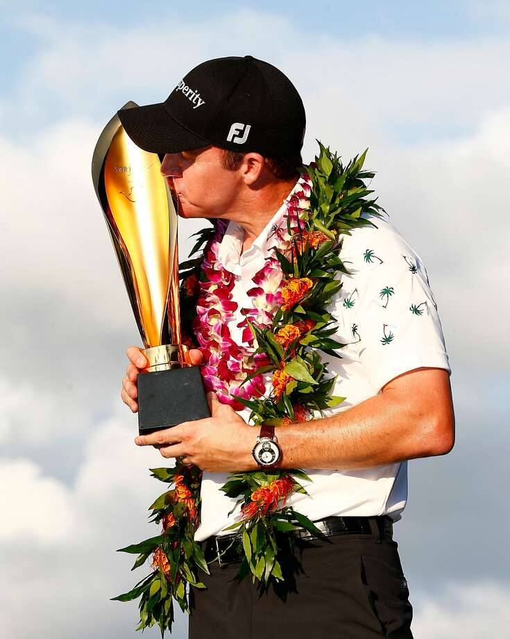 Jimmy Walker carded a 63 on Sunday to win the Sony Open in Honolulu. Photo: Sam Greenwood, Getty Images