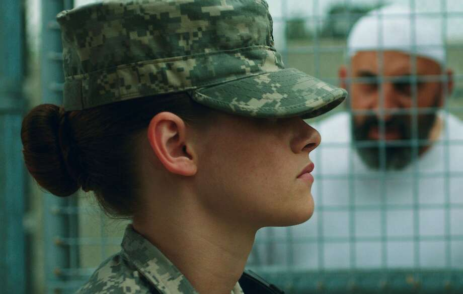 "Kristen Stewart plays a soldier stationed at Guantanamo Bay in ""Camp X-Ray,"" director Peter Sattler's feature film debut. Photo: Beth Dubber, Associated Press"
