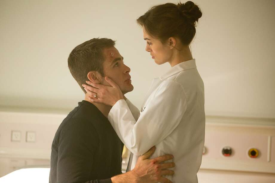 Chris Pine does well in the title role, but Keira Knightley and her character don't fit. Photo: Larry Horricks, Paramount Pictures