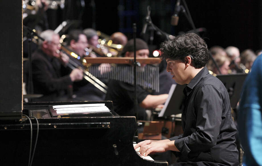 Pianist Aaron Prado will join the Primetime Jazz Orchestra Friday for two shows at the Blue Star Brewing Co. On Saturday, he will be at Boardwalk Bistro with his dad, George Prado. Photo: Edward A. Ornelas, San Antonio Express-News / © 2012 San Antonio Express-News