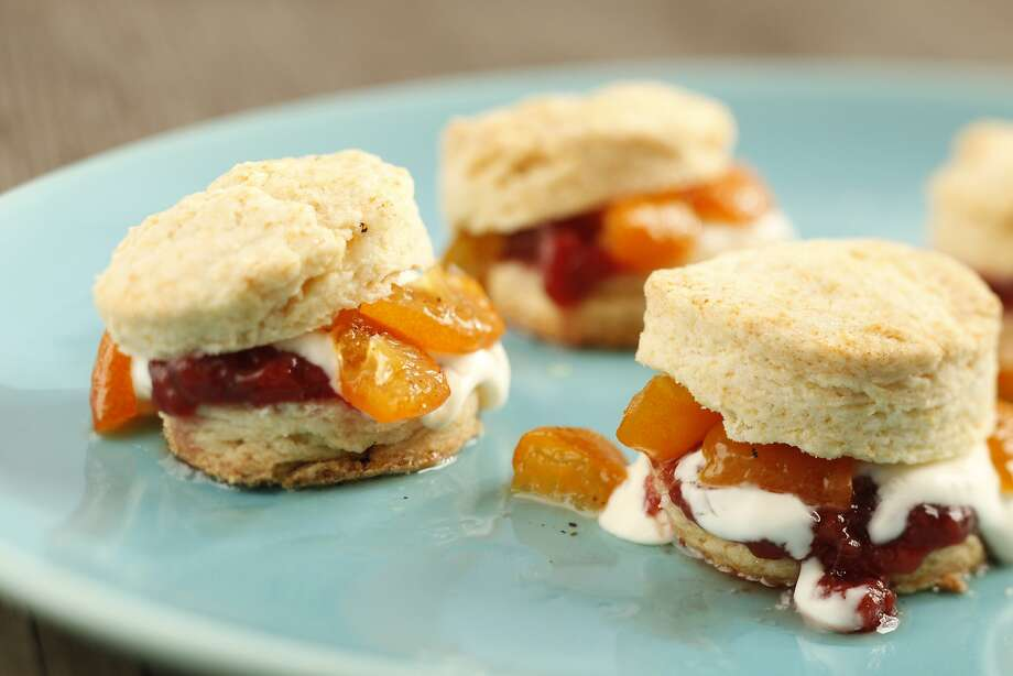 Poached Kumquat Strawberry Jam Shortcakes Photo: Craig Lee, Special To The Chronicle