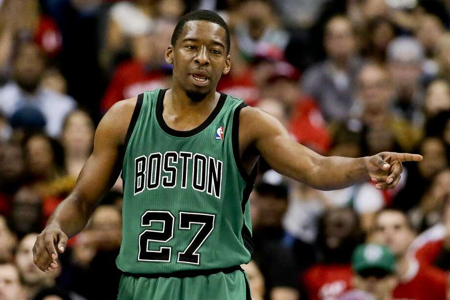 Boston Celtics guard Jordan Crawford plays against the Los Angeles Clippers during the first half of an NBA basketball game in Los Angeles, Wednesday, Jan. 8, 2014. (AP Photo/Chris Carlson) Photo: Chris Carlson, Associated Press