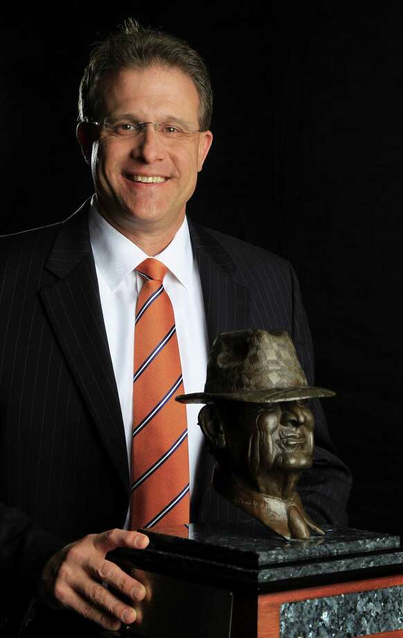 "Auburn head coach Gus Malzahn photographed before the 2014 Marathon Oil Corporation Paul ""Bear"" Bryant Awards at the Royal Sonesta, Wednesday, Jan. 15, 2014. Photo: Karen Warren, Houston Chronicle / © 2013 Houston Chronicle"