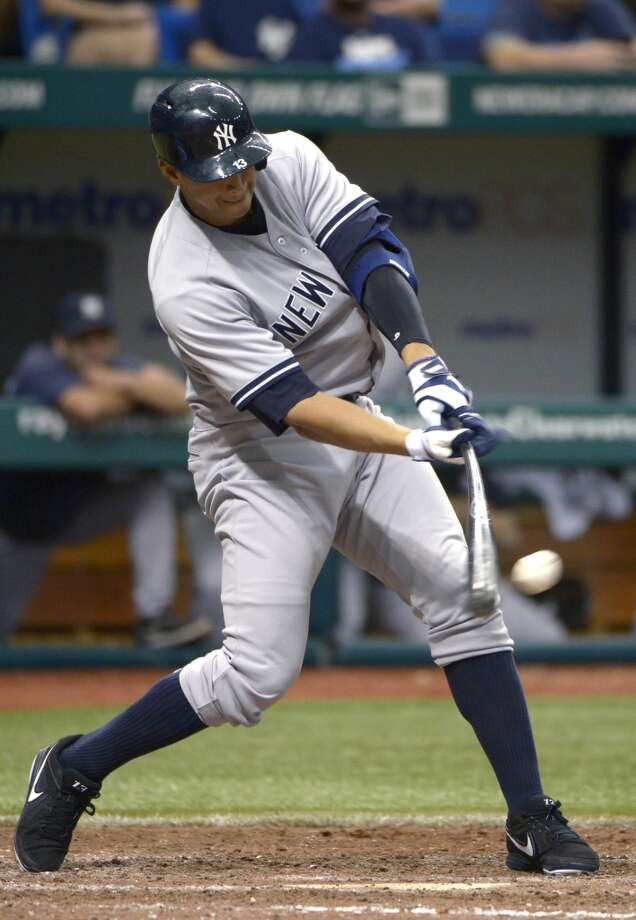 Alex Rodriguez, SS/3B NY Yankees 10 years - $275 million* Term of contract: 2008-2017 Avg. annual value of contract: $27.5 million (* A renegotiation/extension of original contract with Texas.) Photo: Phelan M. Ebenhack, Associated Press