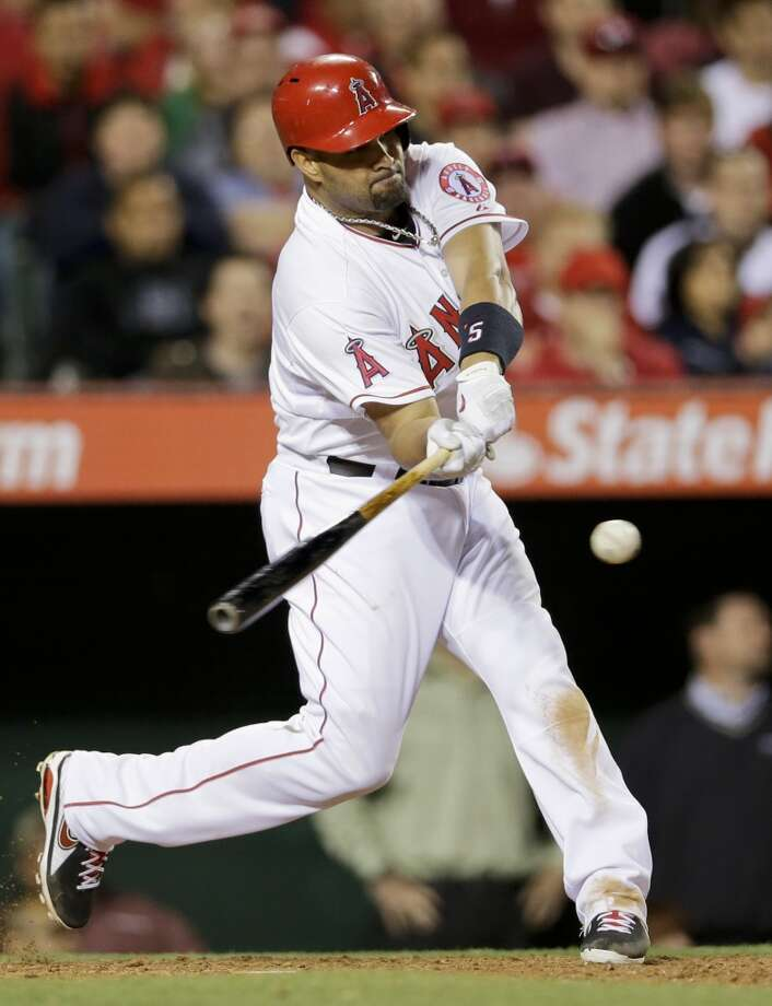 Albert Pujols, 1B LA Angels 10 years, $240 million Term of contract: 2012-2021 Avg. annual value of contract: $24.0 million Photo: Chris Carlson, Associated Press
