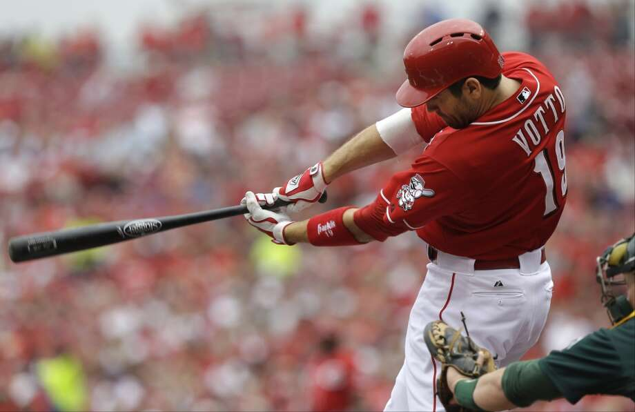 Joey Votto, 1B Cincinnati 10 years - $225 million Term of contract: 2014-2023 Avg. annual value of contract: $22.5 million Photo: Al Behrman, Associated Press