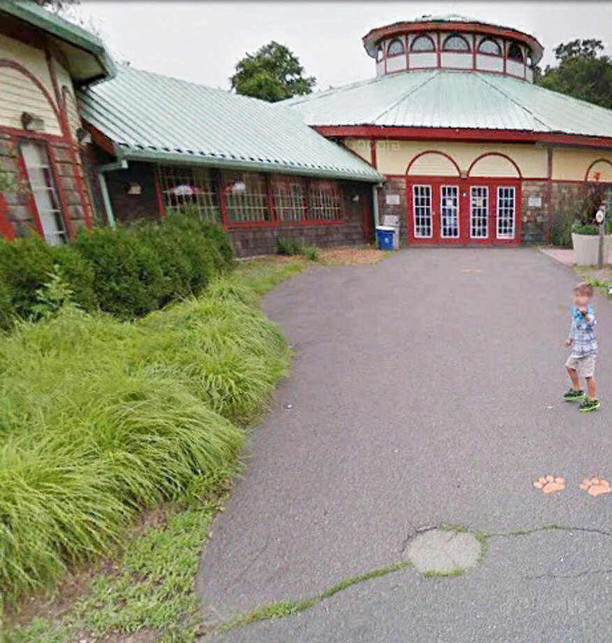 The carousel at the Beardsley Zoo in Bridgeport. Beardsley is the only zoo in Connecticut. Photo: Google Earth Images
