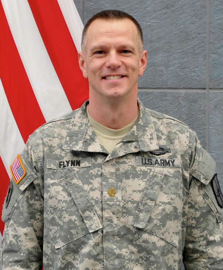 Major Sean Flynn, the new commander of the 1st Battalion 69thInfantry. (NY National Guard)