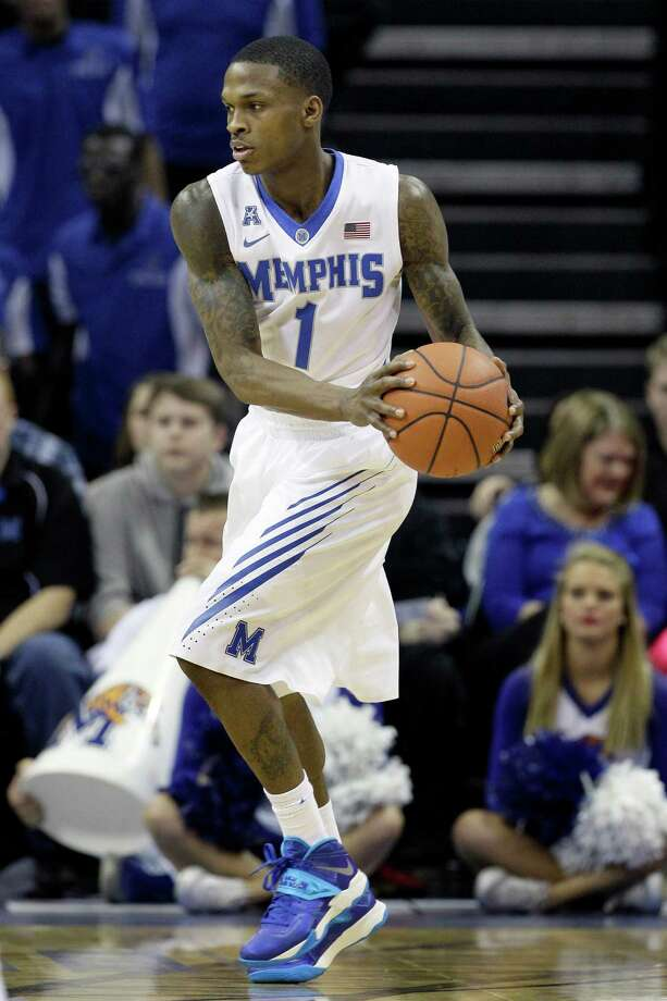Memphis' Joe Jackson plays in the second half of an NCAA college basketball game against Jackson State in Memphis, Tenn., Saturday, Dec. 28, 2013. Memphis defeated Jackson State 75-61. (AP Photo/Danny Johnston) Photo: Danny Johnston, Associated Press / Associated Press