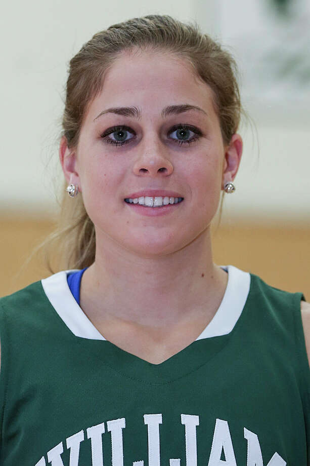 Jacqueline Murphy of William Smith women's basketball team. (Kevin Colton / Hobart and William Smith Colleges)