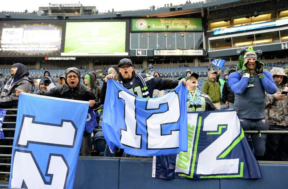 The crowd at CenturyLink Field, home of the Seahawks, is widely regarded as the NFL's loudest. Photo: Harry How / Getty Images / 2014 Getty Images