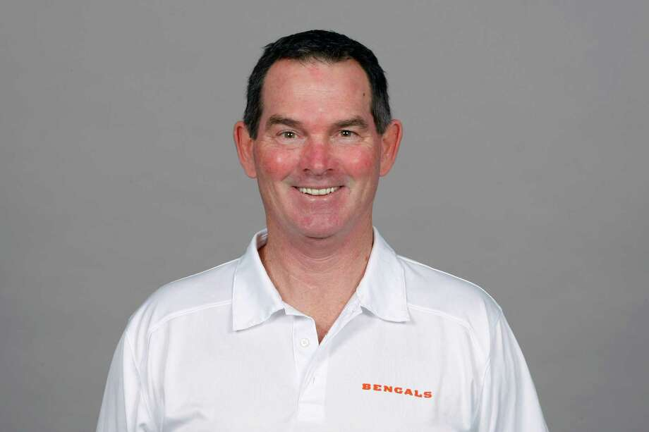FILE - This is a 2013 file photo showing Mike Zimmer of the Cincinnati Bengals NFL football team. The Minnesota Vikings have chosen  Zimmer as their new head coach, according to multiple media reports. Zimmer will replace Leslie Frazier, who was fired after the team finished 5-10-1 this season. (AP Photo/File) Photo: Uncredited, FRE / NFLPV AP