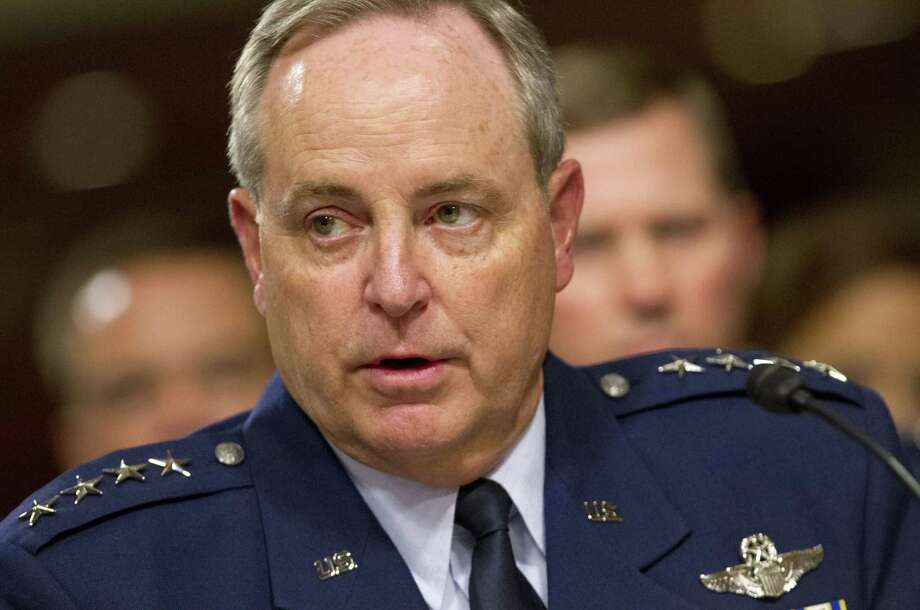 """Gen. Mark Welsh, the Air Force chief of staff, said the problems with crews were """"not about the compromise of nuclear weapons."""" Photo: Associated Press File Photo / AP"""