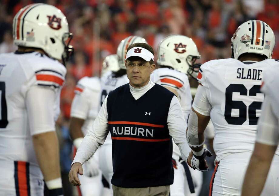 Gus Malzahn led an Auburn program that went winless in the SEC in 2012 to coming within 13 seconds of winning the national championship. Photo: Chris Carlson / Associated Press / AP