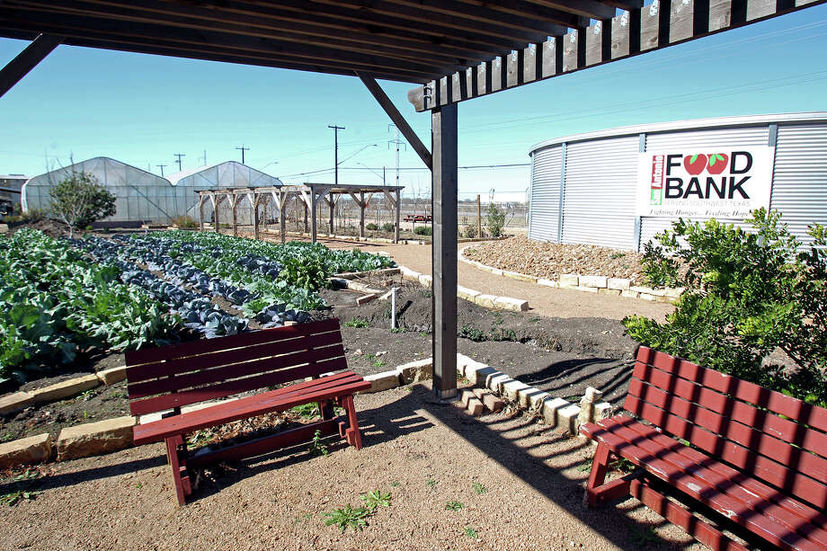 The instructional garden area  awaits as the San Antonio Food Bank marks the opening of its expanded facilities  on January 15, 2014. Photo: For The San Antonio Express-News