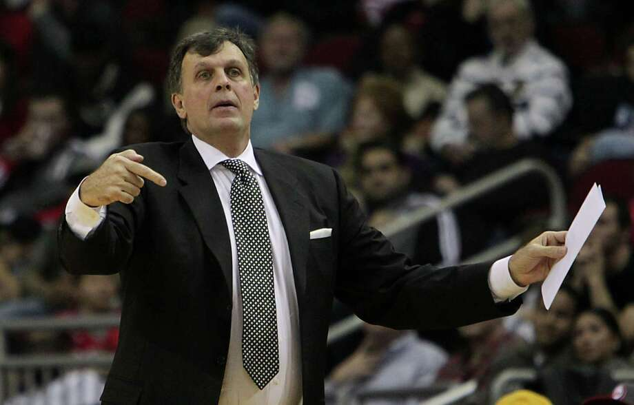 Houston Rockets head coach Kevin McHale during the first half of NBA game action against the Brooklyn Nets at the Toyota Center Friday, Nov. 29, 2013, in Houston.  ( James Nielsen / Houston Chronicle ) Photo: James Nielsen, Staff / © 2013  Houston Chronicle