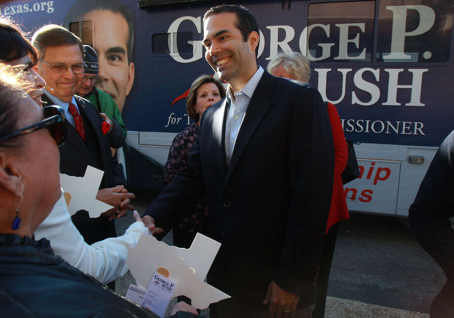 George P. Bush, who hopes to be the GOP nominee for land commissioner, wants the Daughters of the Republic of Texas to be more involved in the Alamo. That would be a step backward. Photo: John Davenport, San Antonio Express-News / ©San Antonio Express-News/Photo may be sold to the public