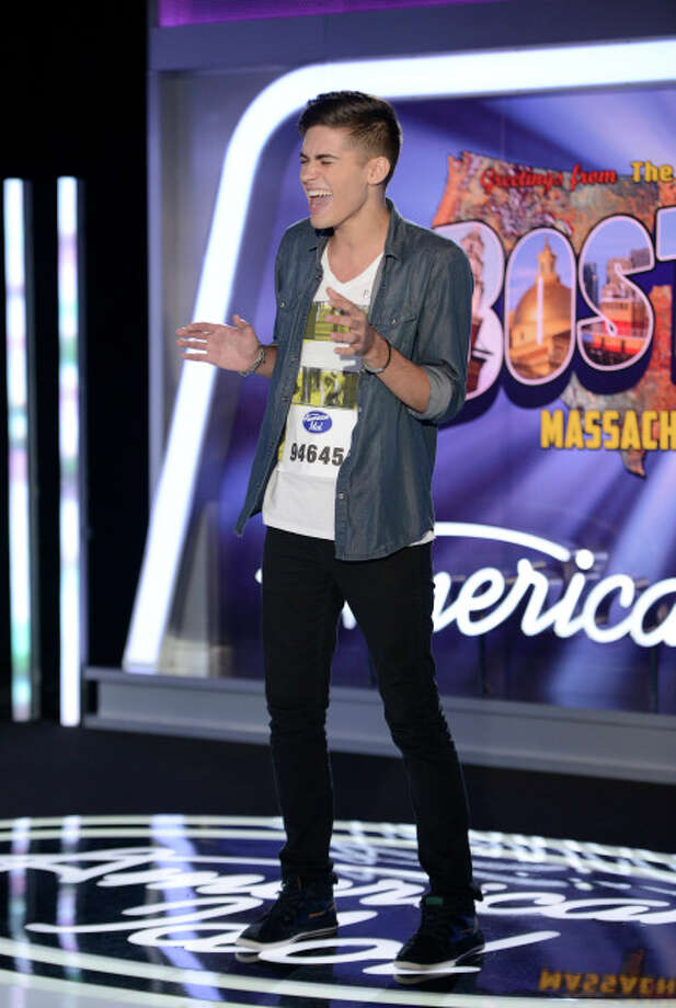 AMERICAN IDOL XIII: Boston Auditions: Contestant Eric Percario performs in front of the judges. AMERICAN IDOL XIII begins with a two-night, four-hour premiere Wednesday, Jan. 15 (8:00-10:00 PM ET/PT) and Thursday, Jan. 16 (8:00-10:00 PM ET/PT) on FOX.CR: Michael Becker / FOX. © Copyright 2013 FOX Broadcasting Co. / 1