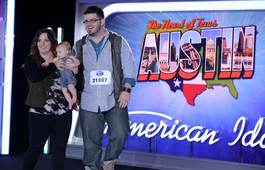 AMERICAN IDOL XIII: Austin Auditions: Contestant Jordan Grizzard and his family. AMERICAN IDOL XIII begins with a two-night, four-hour premiere Wednesday, Jan. 15 (8:00-10:00 PM ET/PT) and Thursday, Jan. 16 (8:00-10:00 PM ET/PT) on FOX. CR: Michael Becker / FOX. © Copyright 2013 FOX Broadcasting Co. / 1