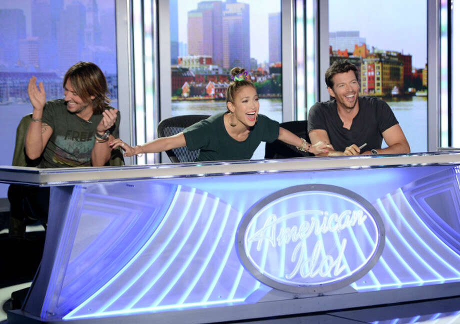 AMERICAN IDOL XIII: Boston Auditions: L-R: Judges Keith Urban, Jennifer Lopez and Harry Connick, Jr. AMERICAN IDOL XIII begins with a two-night, four-hour premiere Wednesday, Jan. 15 (8:00-10:00 PM ET/PT) and Thursday, Jan. 16 (8:00-10:00 PM ET/PT) on FOX.CR: Michael Becker / FOX. © Copyright 2013 FOX Broadcasting Co. / 1