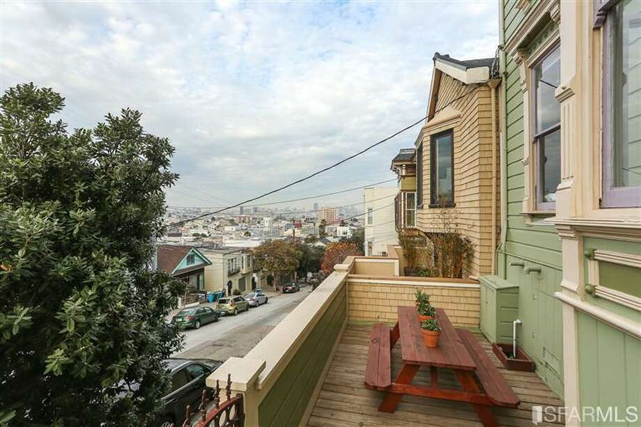And the Bernal view. Photos via Danielle Lazier, Climb Real Estate/MLS