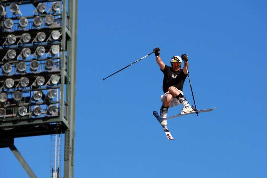 Jonny Moseley gets big air Photo: Laura Morton, Special To The Chronicle