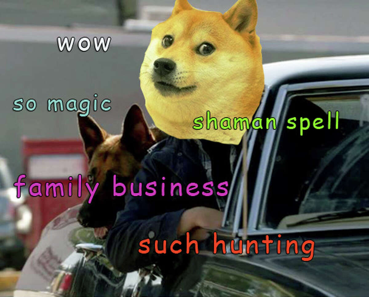 """doge: an Internet fad or meme typified by an image of a dog of the Shiba Inu breed accompanied by very short phrases that humorously represent the dog's imagined thoughts and use the wrong modifiers or shortened word forms, as """"such dignified"""" or """"amaze."""""""