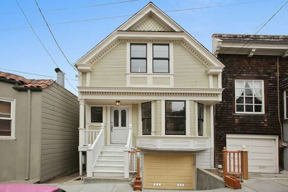 A renovated Victorian in Bernal Heights. Photo: OpenHomesPhotography.com