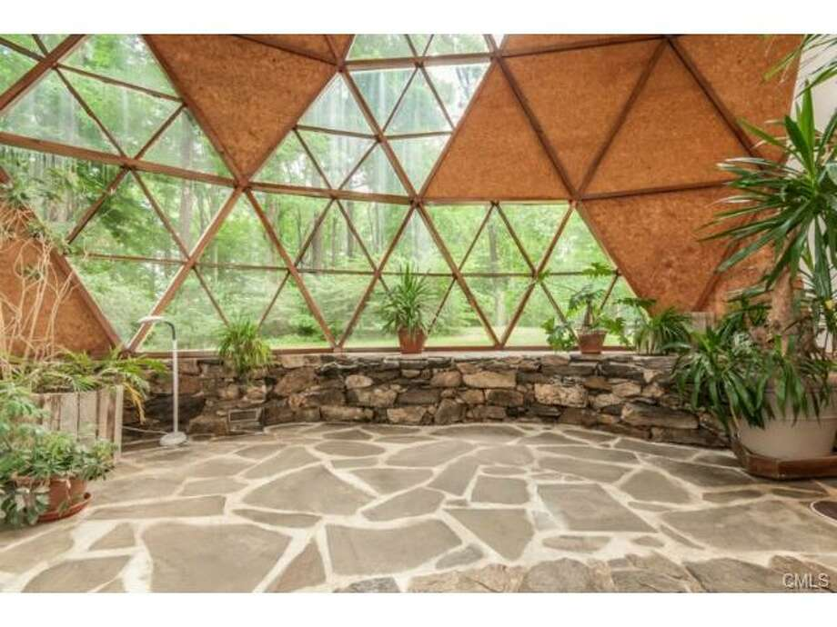 This domed home on Signal Hill Road in Wilton is on the market for $795,000.