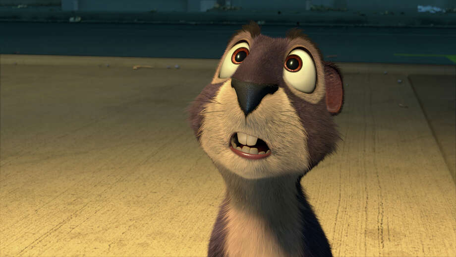"This image released by Open Road Films shows Surly, voiced by Will Arnett, in a scene from ""The Nut Job."" (AP Photo/Open Road Films) Photo: HOEP / Open Road Films"