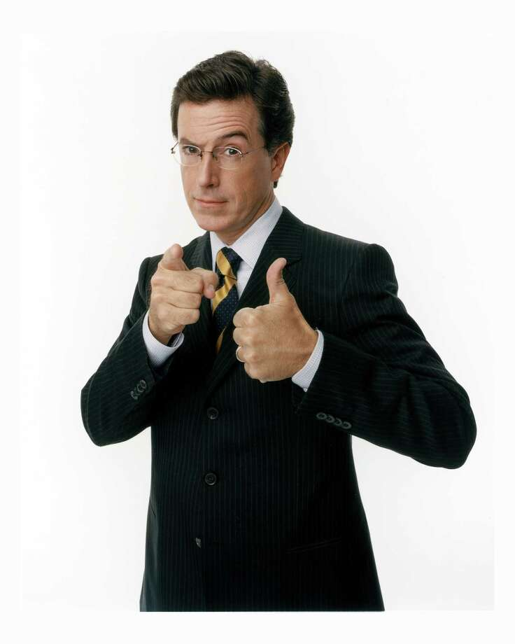 Stephen Colbert of Comedy Central.  Photo: Martin Crook / handout