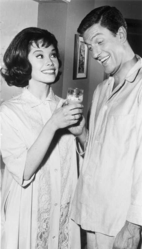 "Laura and Rob Petrie (Mary Tyler Moore and Dick Van Dyke) seemed to have the perfect marriage in the '60s sitcom ""The Dick Van Dyke Show."" / handout"