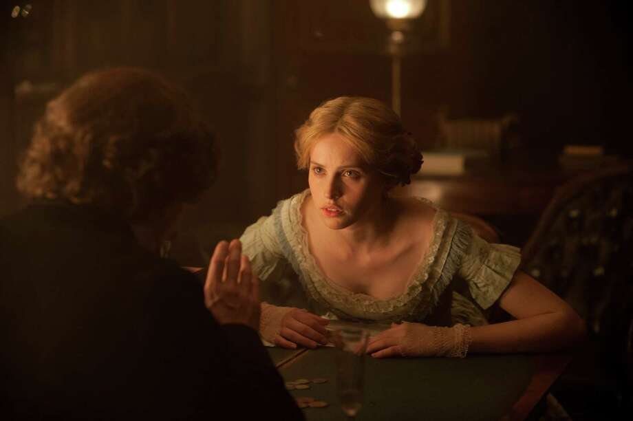 "This image released by Sony Pictures Classics shows Felicity Jones in a scene from ""The Invisible Woman."" (AP Photo/Sony Pictures Classics, David Appleby) Photo: David Appleby, HOEP / Sony Pictures Classics"