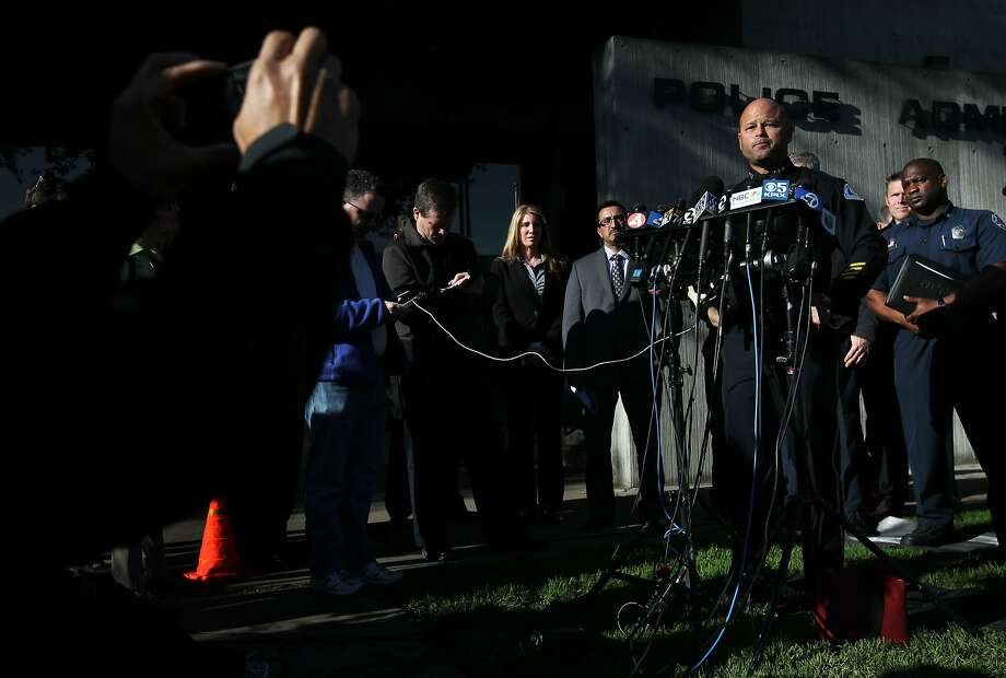 """San Jose Assistant Police Chief Edgardo Garcia says police are """"extremely certain"""" they have the arsonist. Photo: Leah Millis, The Chronicle"""