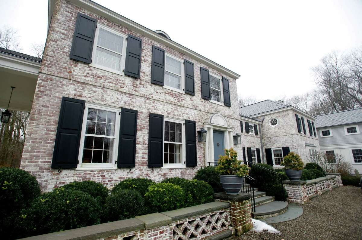 15 Shagbark Road in Darien, Conn., which is on the market for $4.9 million, on Thursday, January 16, 2014.