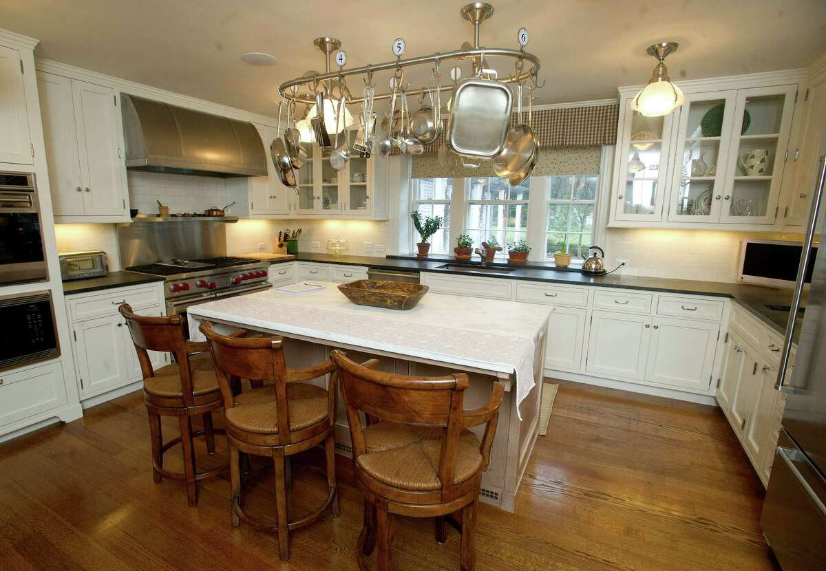 The kitchen of 15 Shagbark Road in Darien, Conn., which is on the market for $4.9 million, on Thursday, January 16, 2014.