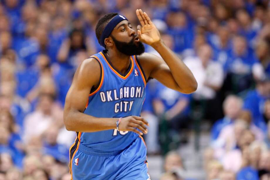 James Harden spent the first three seasons of his NBA career coming off the bench for the Oklahoma City Thunder. In 116 games with Houston, he has faced off against his former team 10 times. Harden and the Rockets have won only three of the 10 - including a 4-2 series loss to OKC in the first round of the playoffs last season. Here's a game-by-game look at how the Beard has fared against his old buddies. Photo: Ronald Martinez, Getty Images Sport