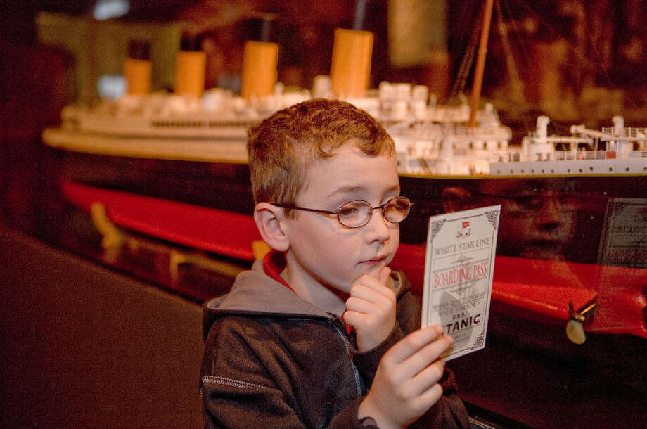 """Titanic: The Artifact Exhibition"" at the Luxor, Las Vegas, gives families a look at the days before the ship sank in 1912. Photo: Courtesy Photo / Premier Exhibitions"