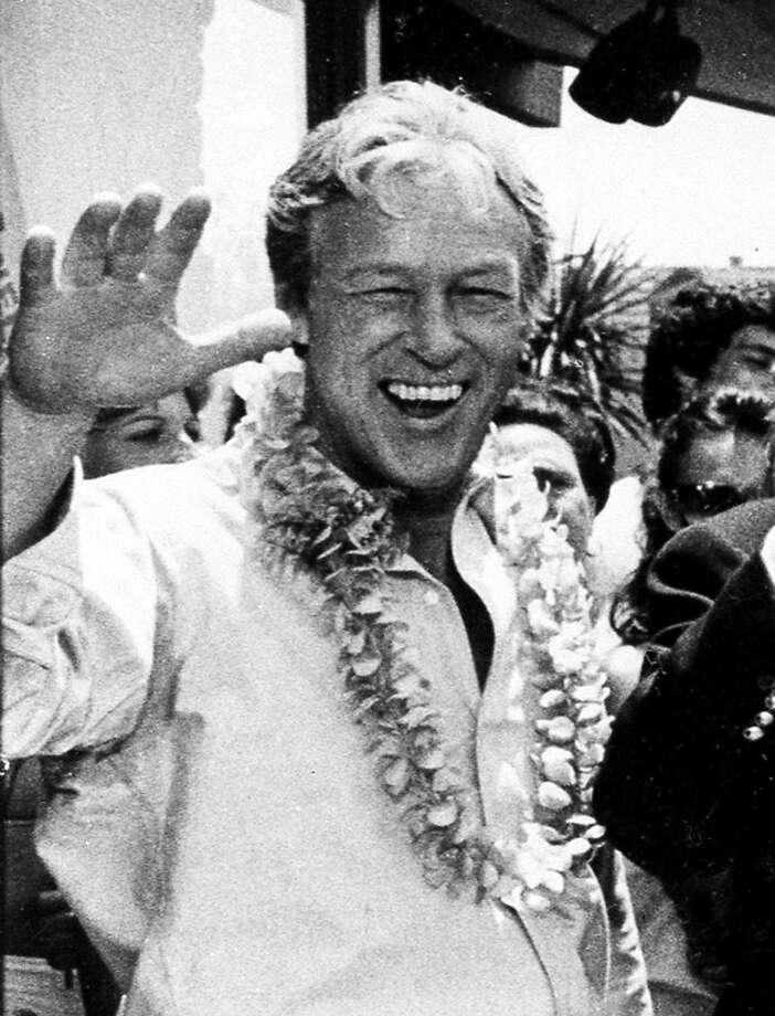 Russell Johnson played the ever-inventive professor who kept the castaways supplied with gadgets. Photo: Wally Fong, Associated Press