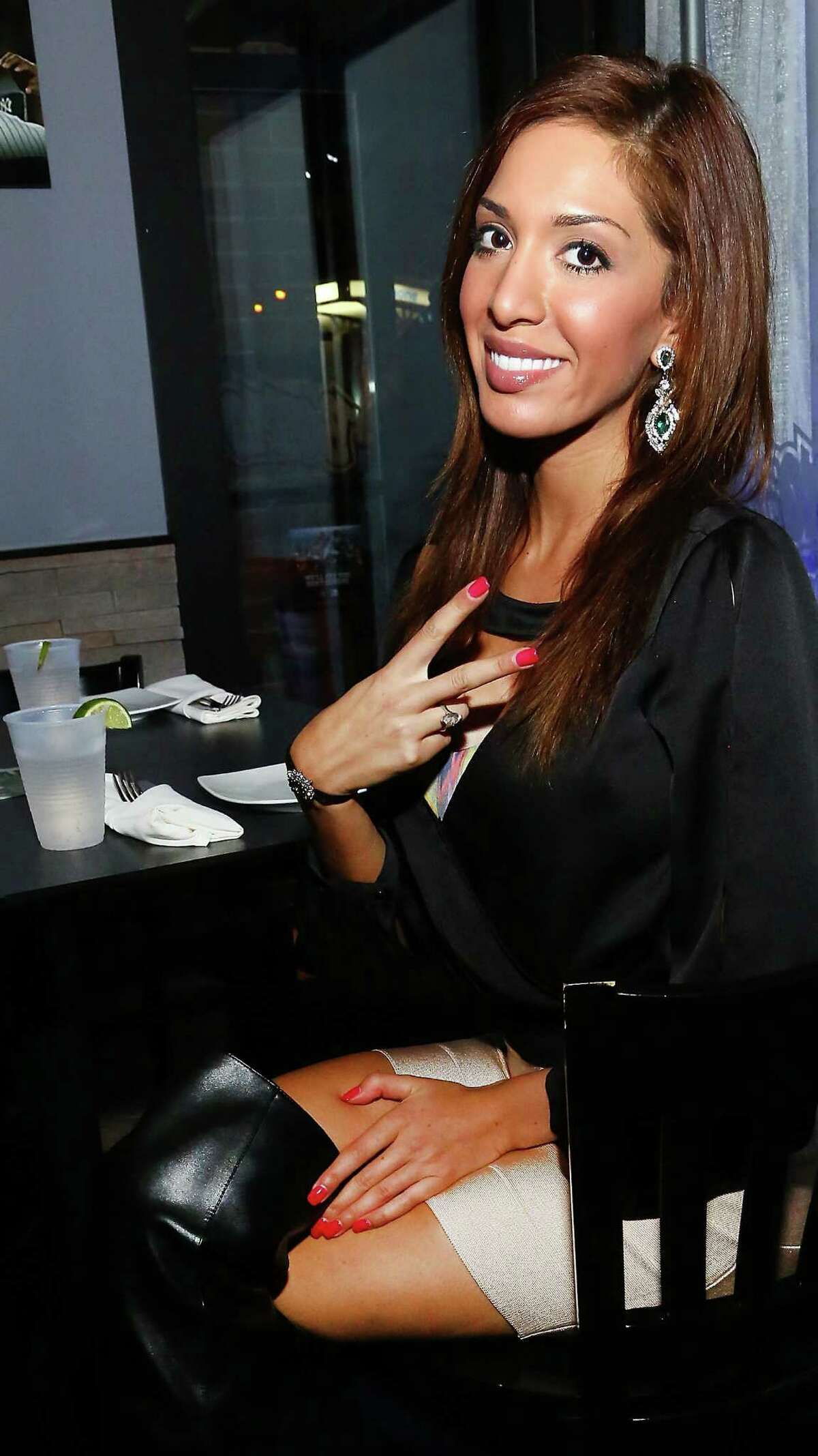 """Farrah Abraham, former star of MTV's """"Teen Mom"""" who now appears on a VH1 show, is living the American Dream of pointless notoriety."""