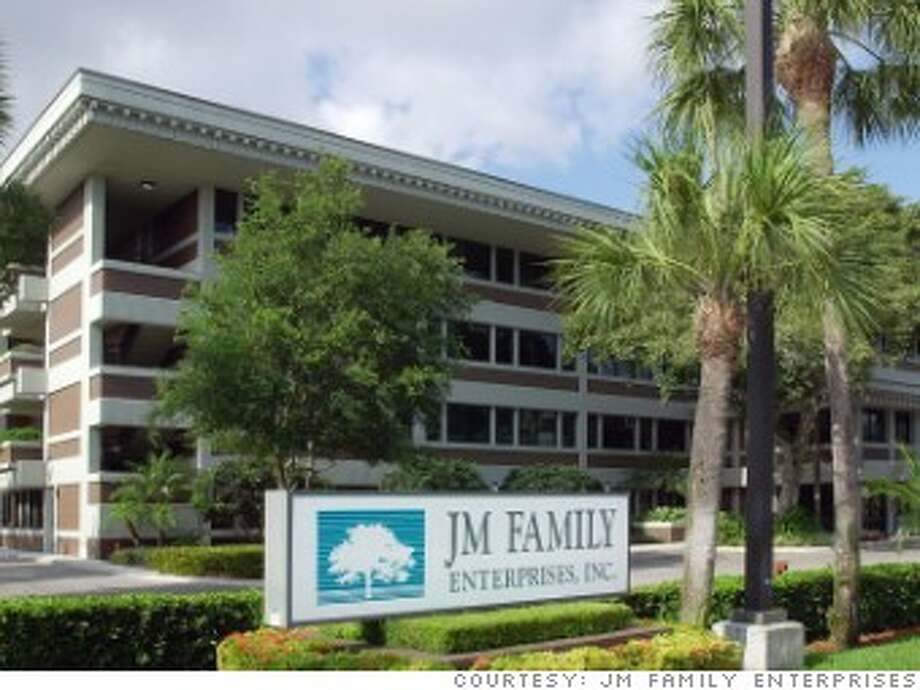 37. JM Family EnterprisesPrevious rank: 32Headquarters: Deerfield Beach, FloridaSource: Fortune Photo: JM Family Enterprises