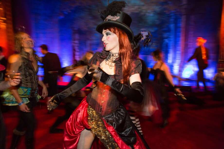 A dancer at the 2013 Edwardian Ball. Photo: Marco Sanchez