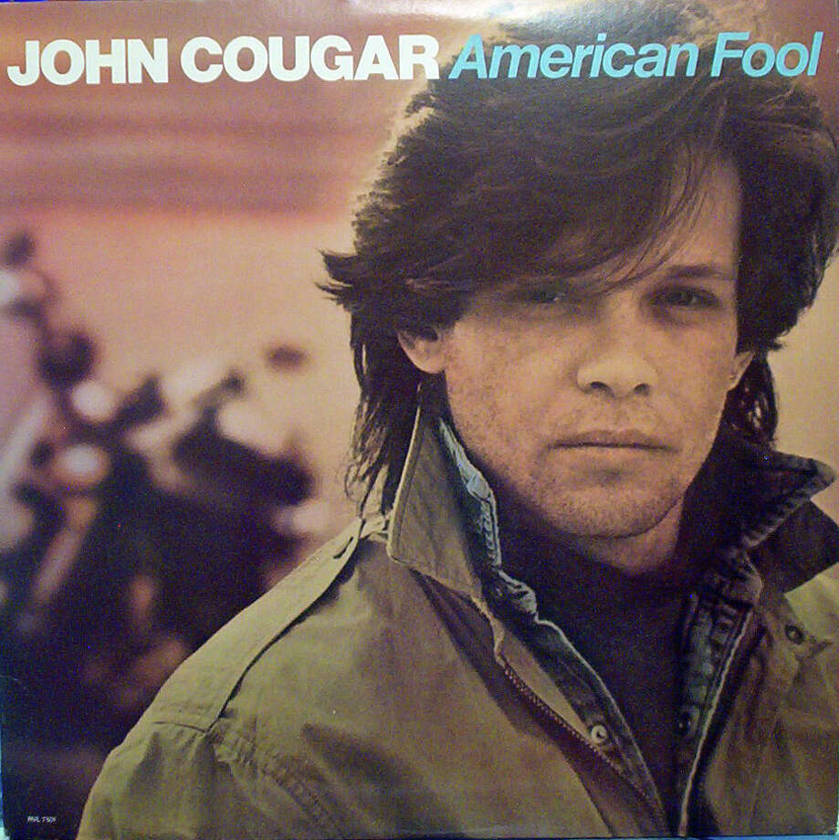 "John Cougar  Sample gross lyric: ""You ain't as green as you are young."" From ""Hurts So Good"""