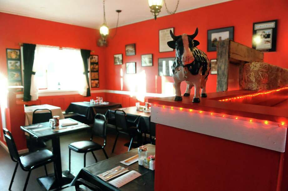 Interior of the Crazy Cow on Thursday, Jan. 9, 2014, in Ballston Spa, N.Y. (Cindy Schultz / Times Union) Photo: Cindy Schultz / 00025299A