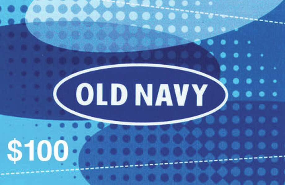 $100 gift card to Old Navy stores for a great new workout wardrobe.