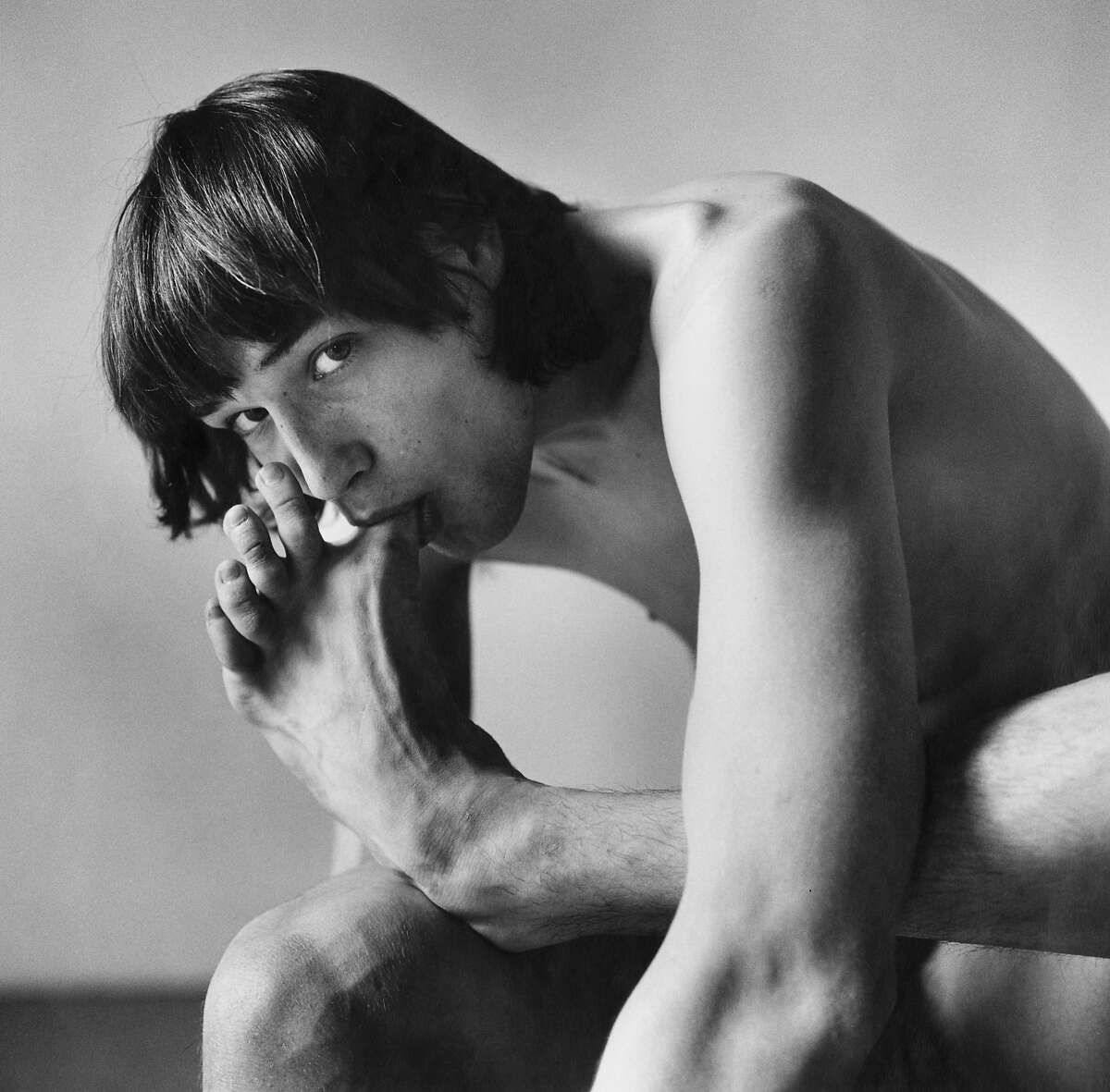 Peter Hujar, Daniel Schook Sucking Toe, 1981