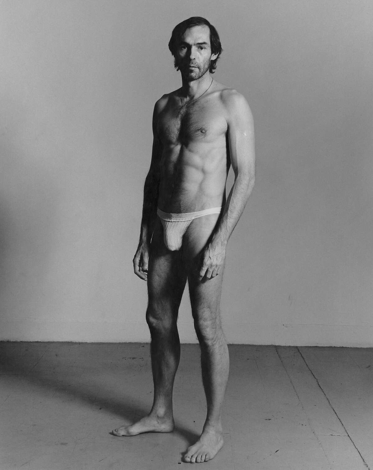Peter Hujar, Self-Portrait Standing, 1980