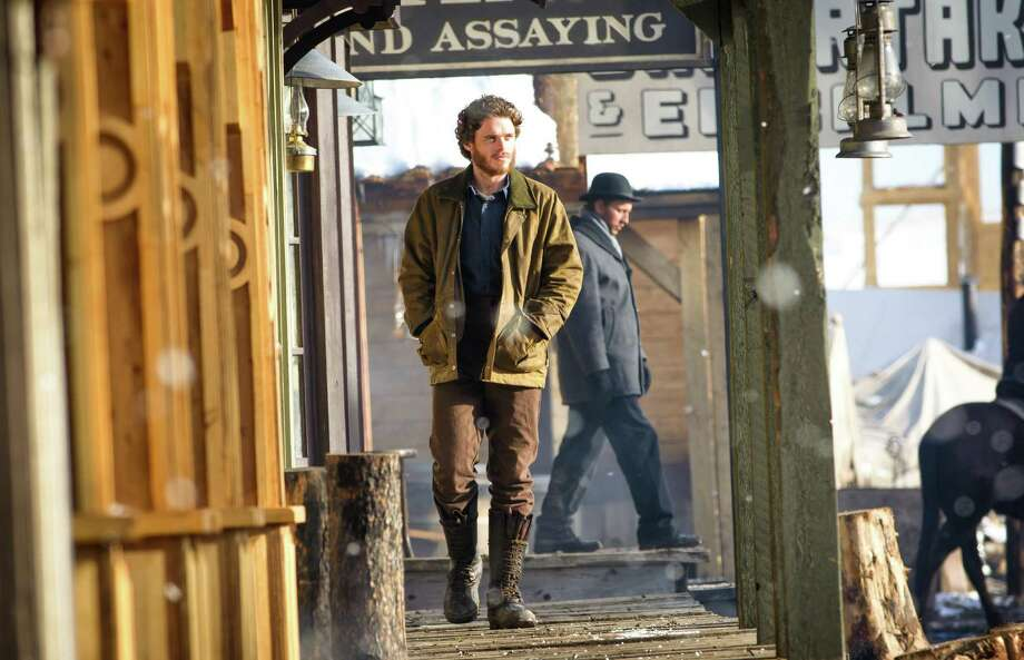 "Richard Madden plays a young gold prospector who encounters murder, brutal cold and every kind of deception in the Western miniseries ""Klondike."" Photo: Discovery / San Antonio Express-News"