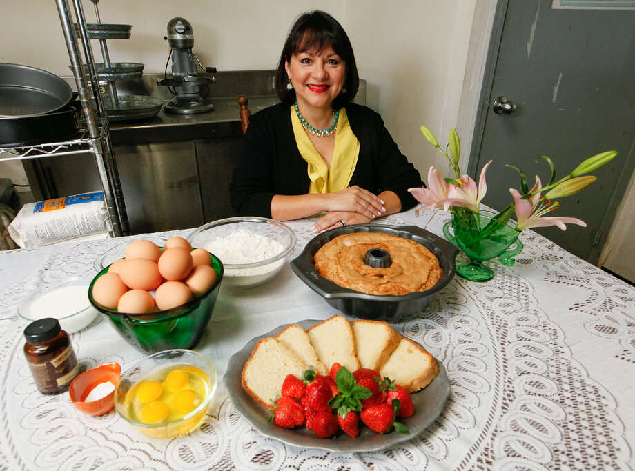 Di-Anna R. Arias, vice president of sales and culinary vision for Don Strange of Texas Inc., has been making her grandmother's pound cake since she was a child. Photo: Photos By Marvin Pfeiffer / San Antonio Express-News / Express-News 2014